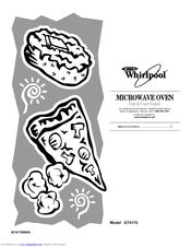 Whirlpool GT4175 Manuals
