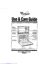 Whirlpool RM286PXV Manuals