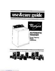 Whirlpool LA6800XS Manuals