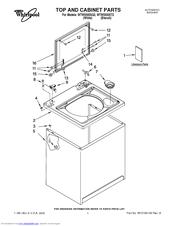 Whirlpool WTW5500SQ2 Manuals