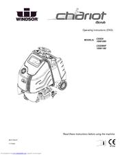 Windsor Chariot Scrubber CSX24 Manuals
