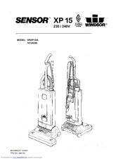 Windsor Sensor XP 15 10120290 Parts List (18 pages)