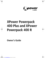 Xantrex 400 Plus, 400 R Manuals
