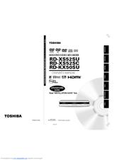 Toshiba RD-KX50 Manuals