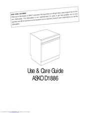Asko D1886 Manuals