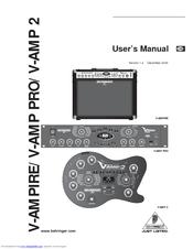 Behringer Bass V-Amp Pro Manuals