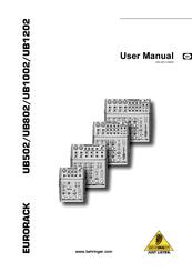 Behringer Eurorack UB502 Manuals