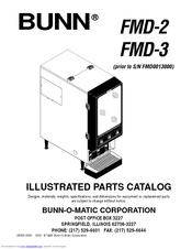 Bunn FMD-3 Manuals