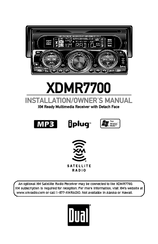 Dual XDMR7700 Manuals