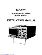 Elenco Electronics MO-1251 Manuals