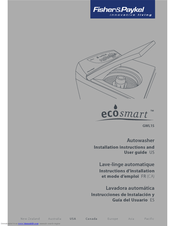 Fisher & Paykel ecosmart GWL15 Manuals