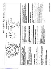 Frigidaire GLET1142CS0 Manuals