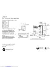 Ge JTP35SPSS Manuals