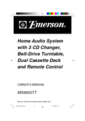 Emerson MS9903TT Manuals