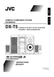 Jvc DX-T5 Manuals
