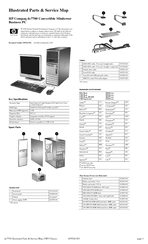 Hp dc7700 Convertible Minitower P Manuals