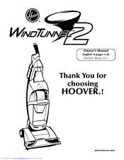 Hoover U8371 Manuals