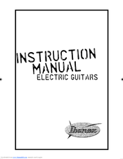 Ibanez RGA Series RGA32 Manuals