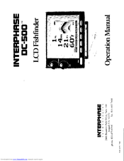 Interphase DC-500 User Manual (21 pages)