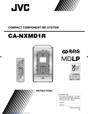 Jvc NX-MD1 Manuals