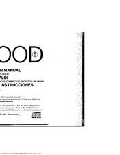 Kenwood KDC-X711 Manuals