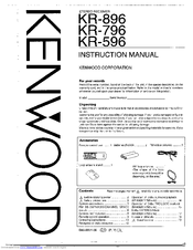 Kenwood KR-796 Manuals