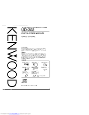 Kenwood RXD-C3 Manuals