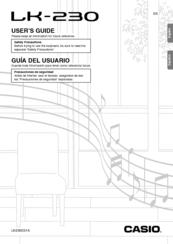 Casio LK-230 Manuals