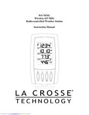 La crosse technology WS-7076U Manuals
