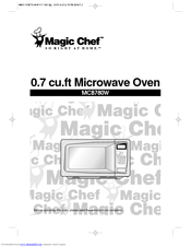 Magic Chef B780W Manuals