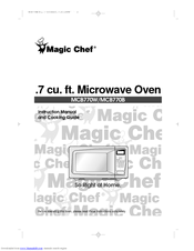 Magic Chef MCB770B Manuals