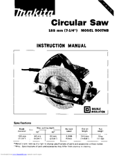 Makita 5007NB Manuals