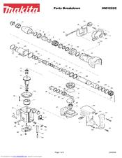 Makita HM1202C Manuals