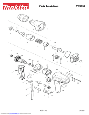 Makita TW0350 Manuals