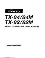 Onkyo TX-82 Manuals