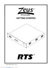 Telex Zeus Manuals