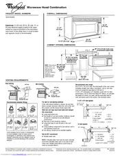 Whirlpool MH3184XPS Manuals
