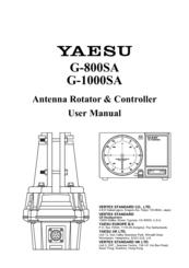 Yaesu G-800SA Manuals