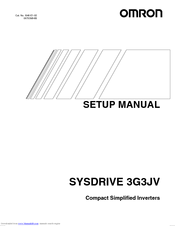 Omron SYSDRIVE 3G3JV Manuals