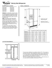 Whirlpool ED5FHAXS Manuals