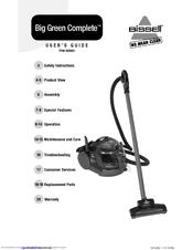 Bissell Big Green Complete Deep Cleaner/Vacuum User Manual