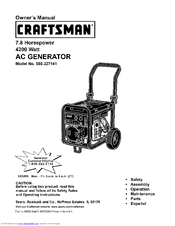 Craftsman 580.327141 Manuals