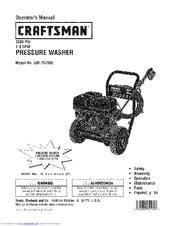Craftsman 4.0 GPM Honda Powered Pressure Washer Manuals