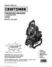 Craftsman 580.752 Owner's Manual