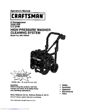 Craftsman 580.768030 Manuals
