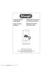 Delonghi Coffee Makers Manuals