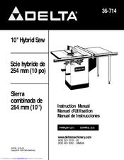 Delta 36-714 Manuals