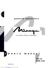 Mirage PS12 Manuals