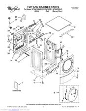 Whirlpool WFW9470WW Manuals