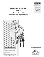 Chamberlain HJ Manuals